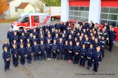 1407_Fertigkeitsabzeichen Erste Hilfe und Feuerwehrsicherheit - Alle TeilnehmerInnen in Ladendorf