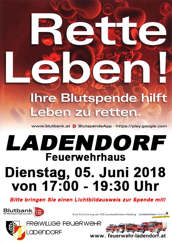 Blutspendeaktion @ Feuerwehrhaus Ladendorf | Ladendorf | Niederösterreich | Österreich